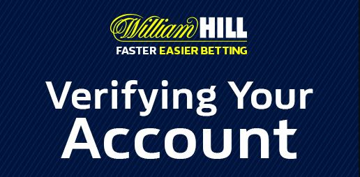 account verification William Hill