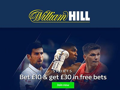 William hill promo code for signup